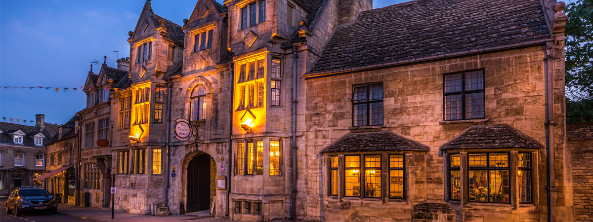 the talbot hotel oundle historic town coaching inn group great british getaways restaurant eatery bar food drink rooms oundle school