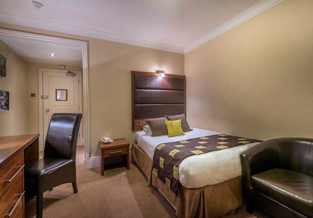 Classic Single Room | The Talbot Hotel, Eatery and Coffee