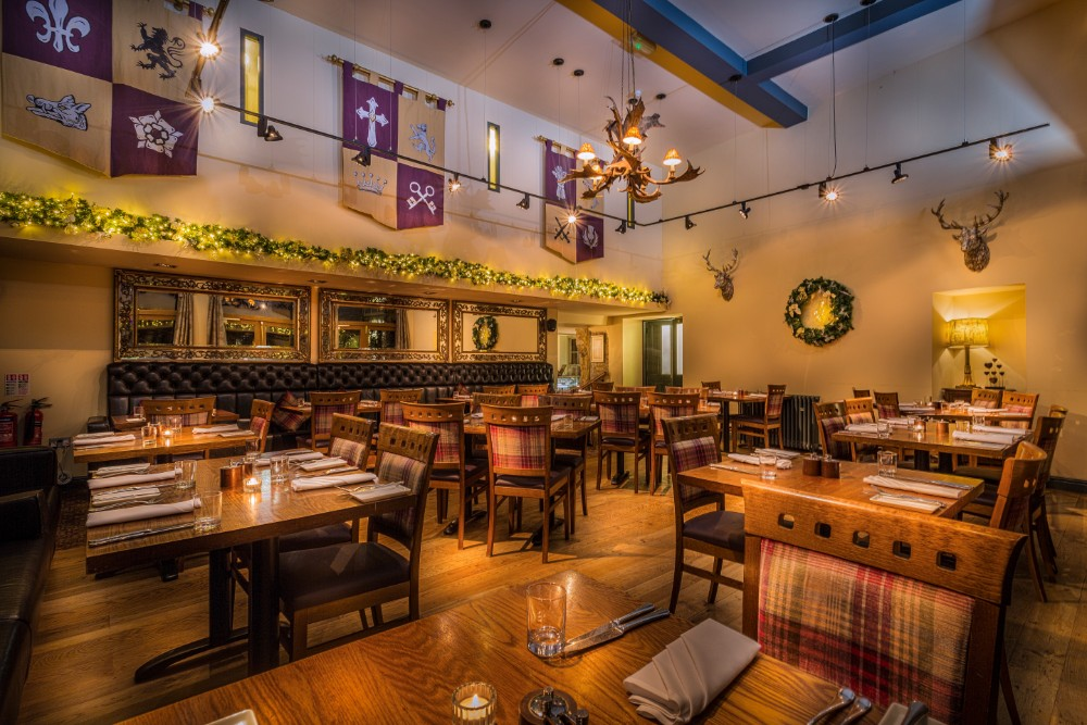 Christmas Day Lunch The Talbot Hotel Eatery And Coffee House Oundle Northamptonshire