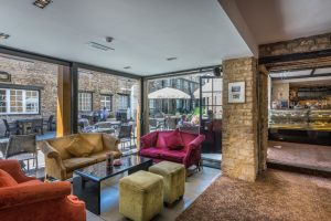 The Talbot Hotel eatery interior 2