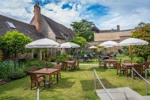 The Talbot Hotel secret garden_1